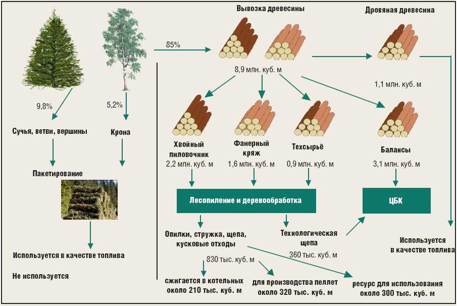 Структура деревообработки