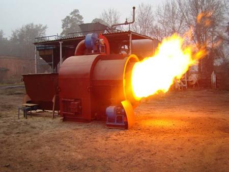 сжигание древестных отходов
